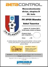 Blansko Tasovice program