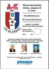 Blansko Boskovice program